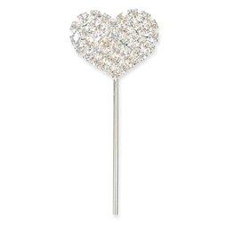 Geschlossenes Diamant Herz, 2,5 x 2 cm