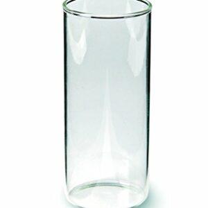 Windlichtglas mit Boden, 5,5 x 13 cm