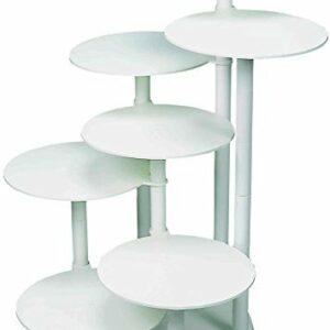 Tortenständer 7 Platten auf verschiedenen Ebenen