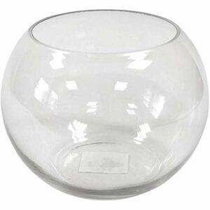Vase Vorratsglas Bonbonglas transparent, 15,5 cm