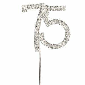 Diamant 75 Silber, 4,5x 5,5cm