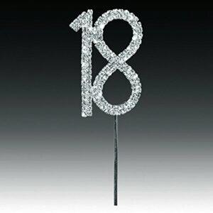 Diamant 18 Silber, 4,5x 5,5cm