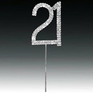 Diamant 21 Silber, 4,5x 5,5cm