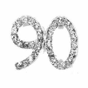 Diamant 90 Silber, 20x 20mm, 5Stück