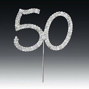Diamant 50 Silber, 4,5x 5,5cm