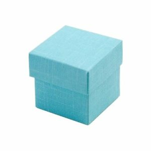 10 Stück box FONDO+COP 50 Seta hellblau, 50x50x50 mm