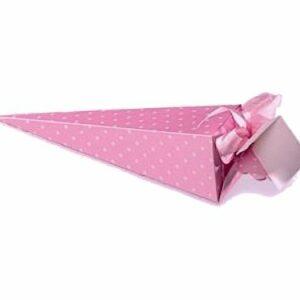 10 Stück  CONO DOTS AMARENA pink/rosa, 155 mm