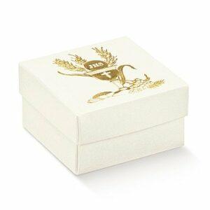 10 Stück  Kartonage FONDO COP-dp Signum Oro, gold, 60 x 60 x 35,