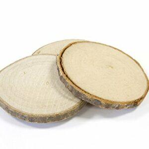 4 Stück Holzscheiben, Durchmesser 5 cm