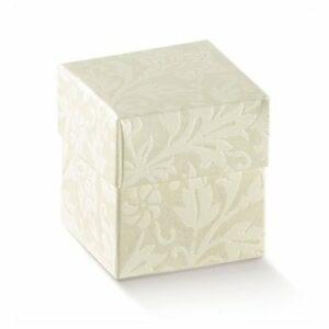 10 Stück  Kartonage FONDO COP-dp Diamante, creme, 50 x 50 x 50,