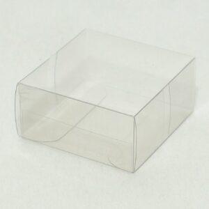 10 Stück  Kartonage ASTUCCIO Trasparente, transparent, 60 x 60 x 30
