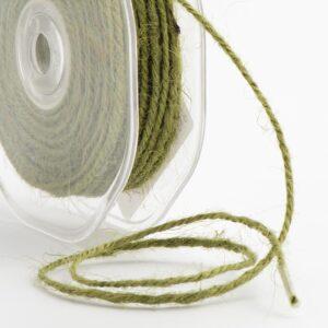 Jute Kordel Olivgrün – 2mm x 20m