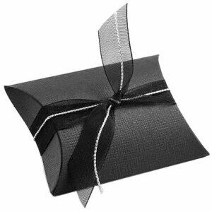 10 Schachteln BUSTA Seta schwarz, 70x70x25 mm