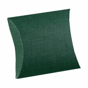 10 Kartonagen BUSTA Seta dunkelgrün, 70x70x25 mm