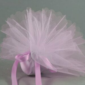 10 Stück Bonboniere Uni rosa