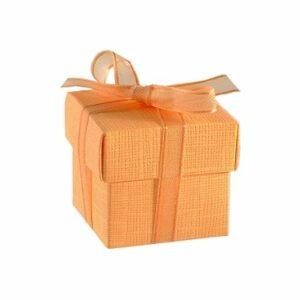 10 Stück box FONDO+COP 50 Seta pfirsich, 50x50x50 mm