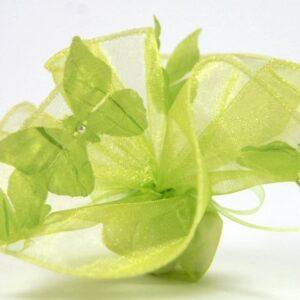 10 Stück Bonboniere Schmetterling apfelgrün