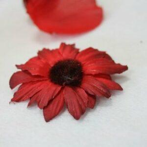 25 Streublüten, 5cm, bordeaux