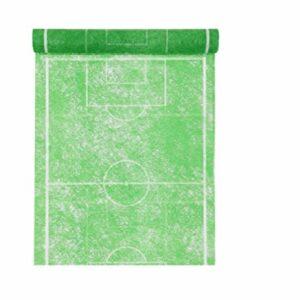 Tischläufer Fußballfeld grün, 30 cm x 5 m