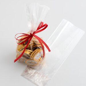 100 Pack Süßigkeitentüten, flach aus Zellophan – 8 x 4 x 24cm
