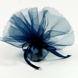 10 Stück Bonboniere uni dunkelblau
