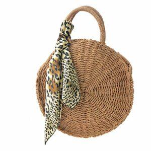 ME Lady Crossbody Bag Tasche Umhängetasche rund 29 cm mit Tuch, Innenfutter und Reissverschluß