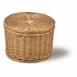 Eierkorb rund, braun, Ø 26cm x H 18cm