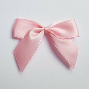 5 cm Satinschleife (Selbstklebend) 12 Stück – Rosa