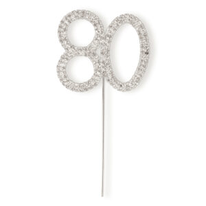 Diamant 80 Silber, 4,5x 5,5cm